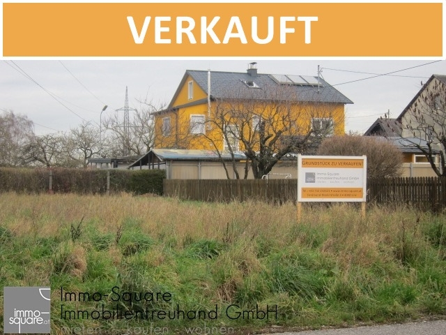 Ebenes Baugrundstück in ruhiger Siedlungslage