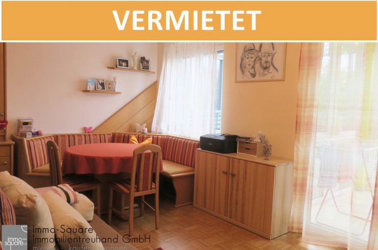 Charmante, kleine 2-Zimmer-Terrassenwohnung mit verglaster Loggia in 4481 Asten