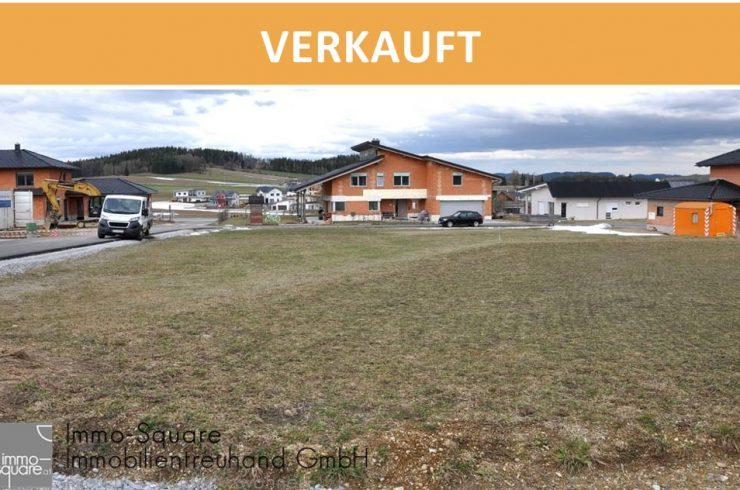 Schönes, großes Baugrundstück, 1114 m², in ortsnaher Siedlungslage in 4193 Reichenthal