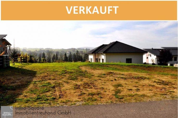 """Aufgeschlossenes Grundstück, 765m², in ruhiger Siedlungslage """"Sonnenplatz"""" in 4191 Vorderweißenbach!"""
