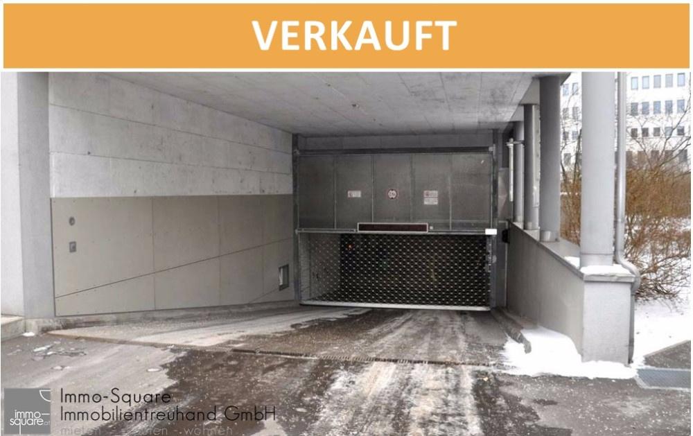 TIEFGARAGENPARKPLATZ – Einfahrt Pillweinstraße! Hinter BFI und AMS in einem zentralen Wohnhaus!