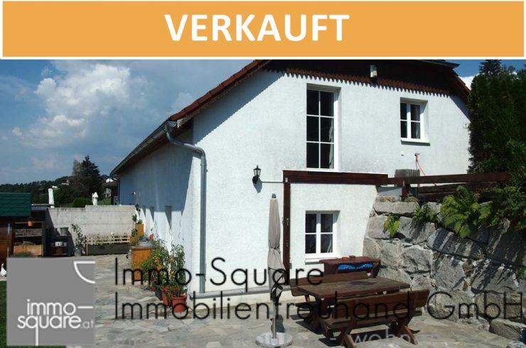 Doppelhaushälfte mit schönem Garten und Fernblick in 4201 Eidenberg