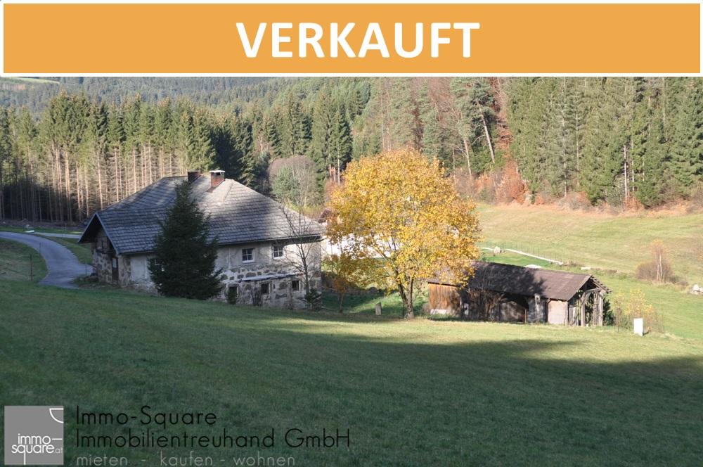 Sacherl im Mühlviertel, umgeben von Wiesen und Wäldern, 3846 m² Gfl, in 4273 Unterweißenbach