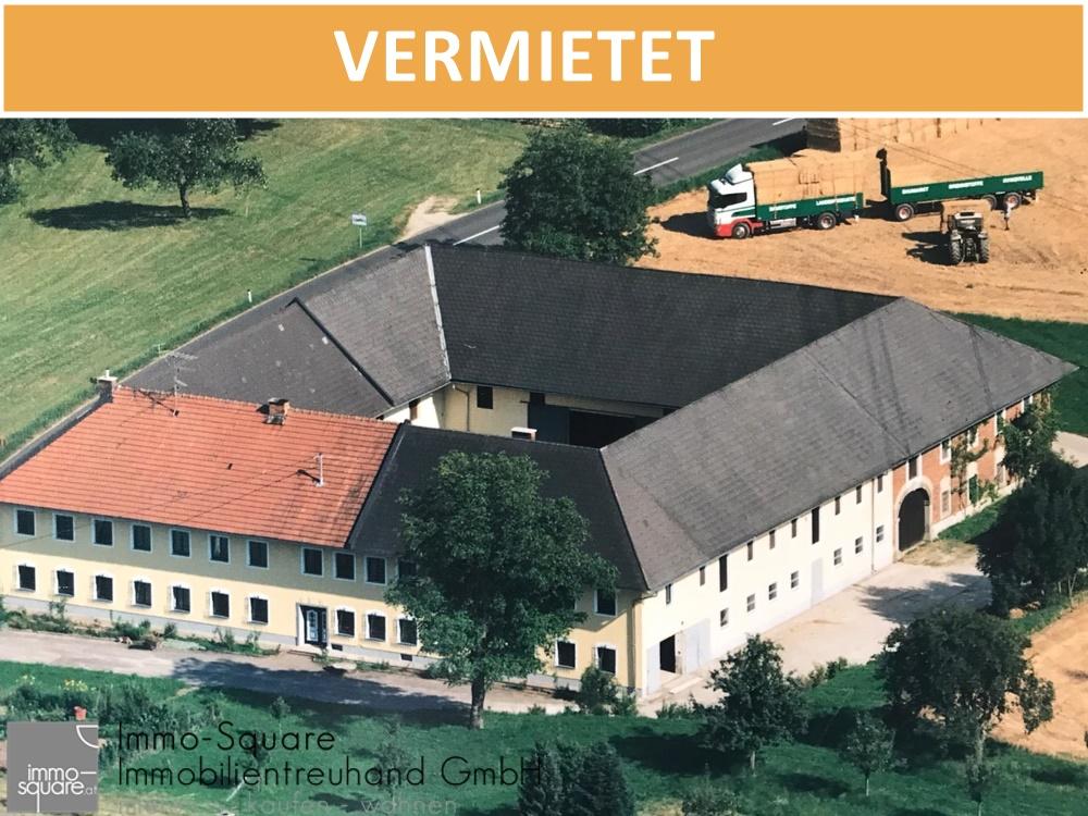 Teilflächen auf Bauernhof, ideal für Lagerräume, Werkstätten, Atelier usw in 4521 Schiedlberg